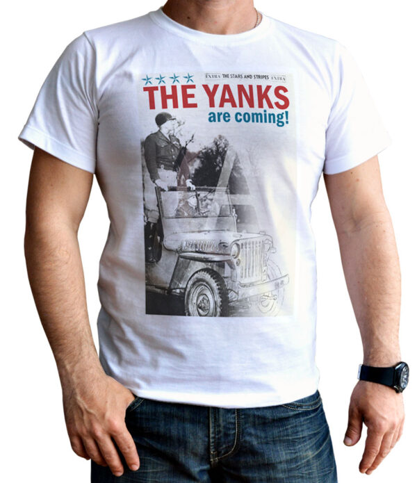 US Car T-Shirt Military Willys Jeep