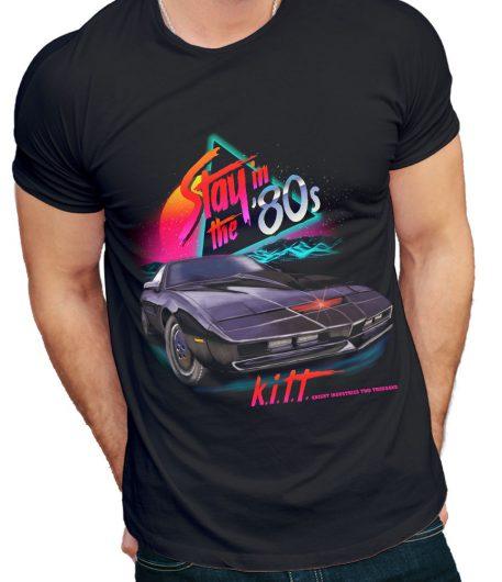 Vintage T Shirt Pontiac Firebird Trans AM Knight Rider KITT