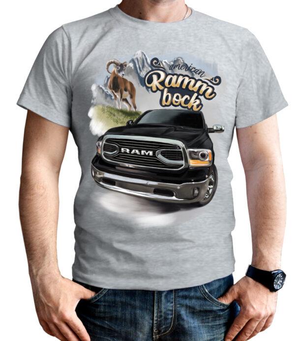 Dodge Ram Shirt. Dodge Ram 1500 Herren T-Shirt